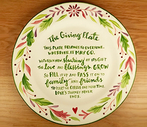 Aurora The Giving Plate