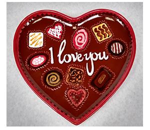 Aurora Valentine's Chocolate