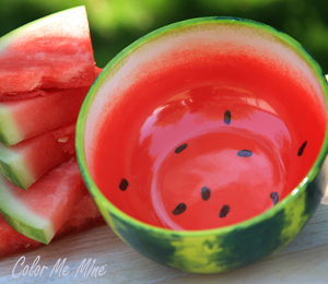Aurora Watermelon Bowl